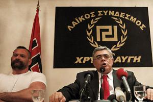 In Greece, Nikólaos Michaloliákos leads the Golden Dawn party, whose emblem resembles the Nazi swastika and whose violent, hateful rhetoric brings back memories of the darkest hours of modern European history.
