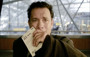 One cannot help but be reminded of the fate met by the character played by Tom Hanks in The Terminal, Steven Spielberg's 2004 movie. A citizen of the fictional country of Krakozhia, Viktor Navorski finds himself trapped at a terminal in New York's John F. Kennedy Airport after a civil war breaks out in his home country.