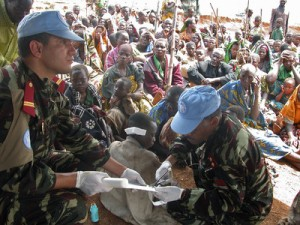 There is only so much the MONUC mission can do to keep the peace and assist the civilian population in the Democratic Republic of Congo.