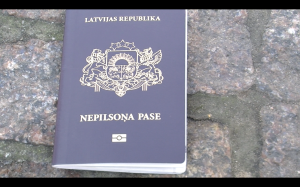 "The ""Non-Citizen Passport"" the Republic of Latvia issues to those Latvians whose citizenship rights it arbitrarily refuses to recognize."