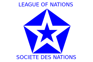 The official emblem of the League of Nations.
