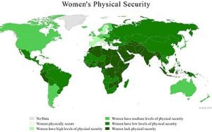 Violence against women, a global scourge. (c) Wikipedia