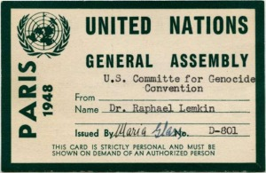 "Thanks to the efforts of Raphael Lemkin, the international community does have a legal instrument to deal with genocide and punish perpetrators whenever necessary. The only trouble is that in this day and age, ""genocide"" has still not become an anachronism in global affairs."