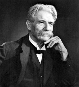 """En 1952, la philosophie de """"Respect de la Vie"""" valut à Albert Schweitzer le Prix Nobel de la Paix."""