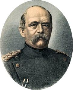 Otto Eduard Leopold von Bismarck (1815-1898), le premier chef de gouvernement de l'Empire allemand.
