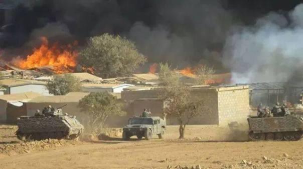 Le 25 septembre dernier, les blindés libanais attaquent le camp d'Alsanabel.