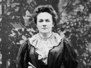 Clara Zetkin (1857-1933), the initiator of International Women's Day.