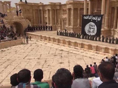 When ISIS/Daesh took Palmyra last May, many people feared they might blow up the ancient city at once. They didn't, but now the vestiges of the ancient civilization there were soon turned into a stage for ISIS/Daesh to use toward propaganda purposes.