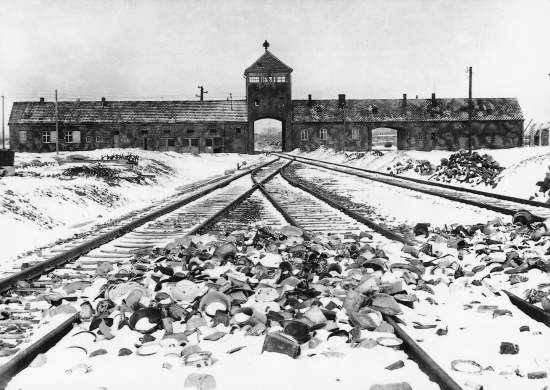 The genocide of the Jewish people in Europe during World War II, carried out in such infamous places as the Auschwitz concentration camp pictured above, was the leading cause for the drafting and adoption of the UN Genocide Convention. The following day, the UN General Assembly also adopted the Universal Declaration of Human Rights.