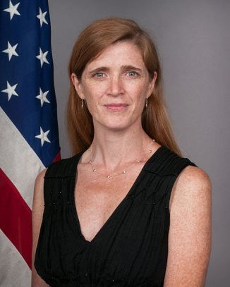 Samantha Power, the Irish-born journalist and writer Barack Obama had made his Ambassador to the United Nations. In a move that was unprecedented in American history, President-elect Donald Trump ordered all sitting U. S. Ambassadors worldwide to leave their posts by the time he was sworn in, thus including Samantha Power. Wh